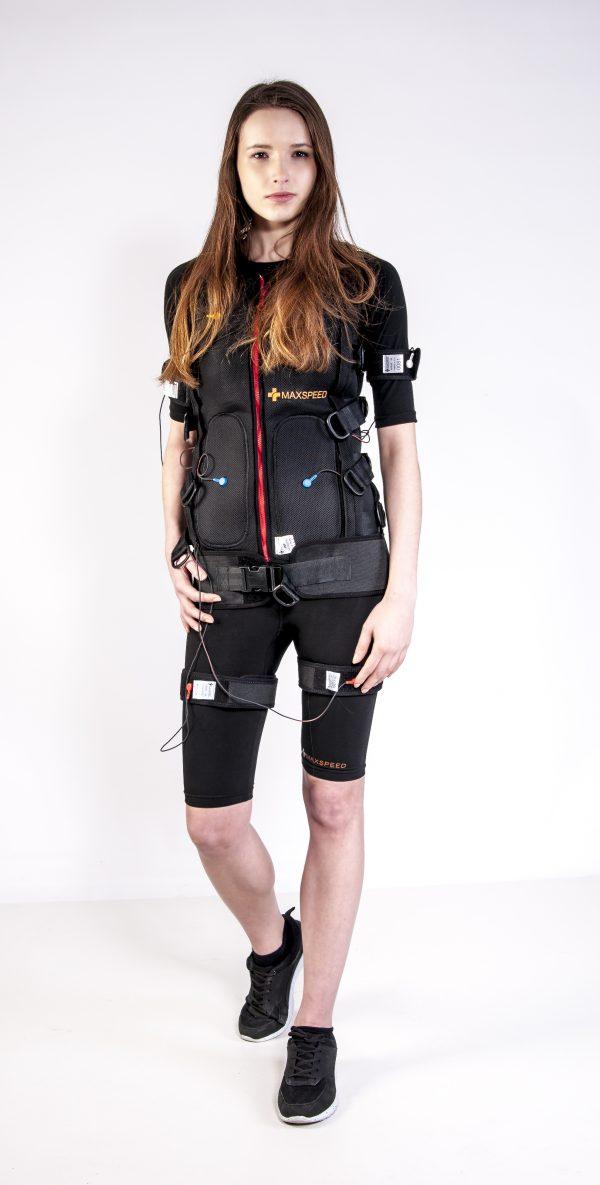 Elektroden-Anzug für elektrische muskelstimulation
