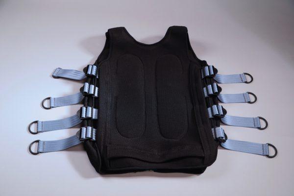MAXSPEED 6 Kanal Elektrodenweste von hinten